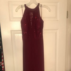 Gorgeous Merlot Evening Gown
